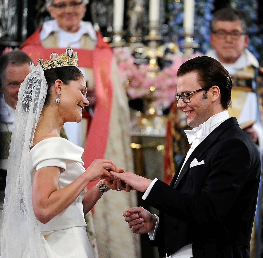 Victoria och Daniel gifte sig i Storkyrkan den 19 juni 2010.