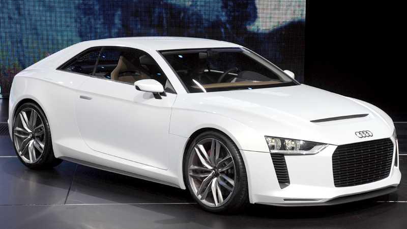 Audi Quattro Concept Foto: Scanpix