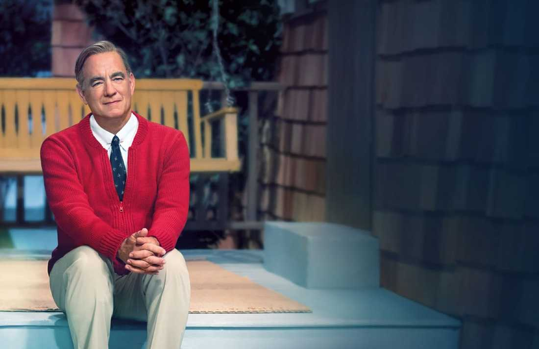 "Tom Hanks i ""A beautiful day in the neighborhood""."