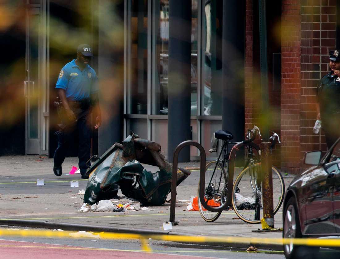29 personer skadades när en sprängladdning detonerade i New York på söndagen.