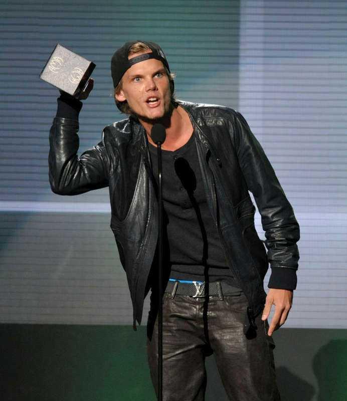 Avicii har fått flera musikpriser, bland annat P3 Guld - och här American Music Awards.