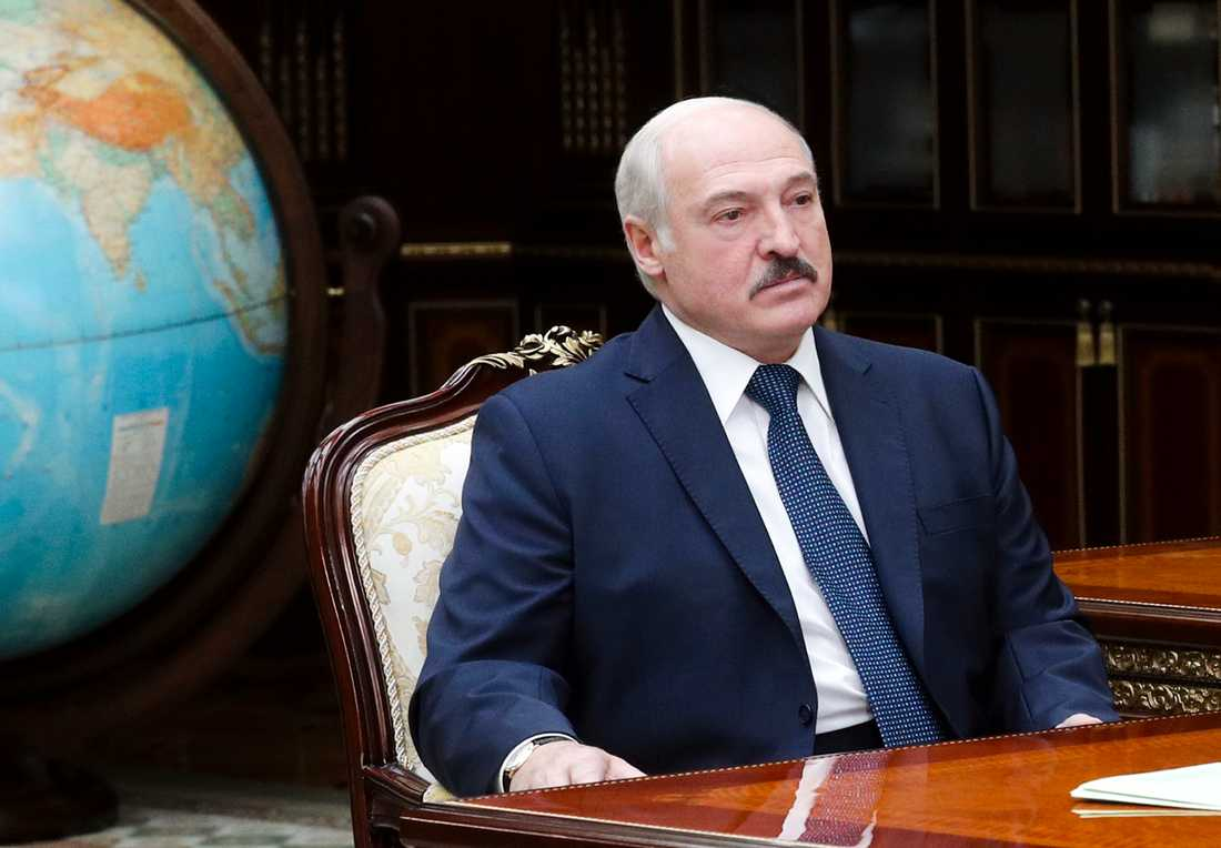 Belarus president Aleksandr Lukasjenko. Arkivbild.