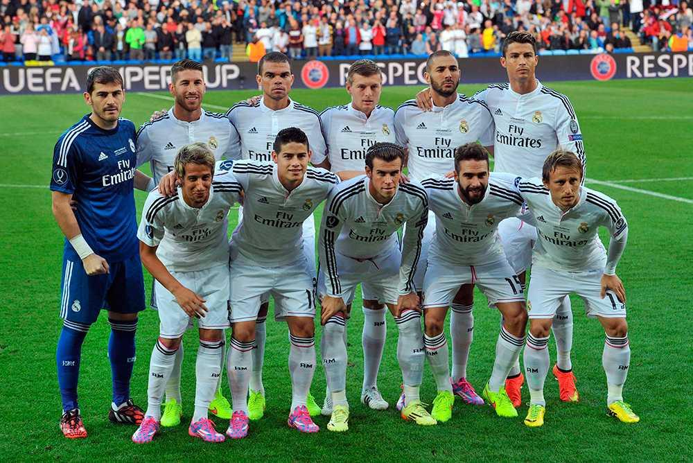 Supercupmötet med Sevilla. Ronaldo maxar sin längd.
