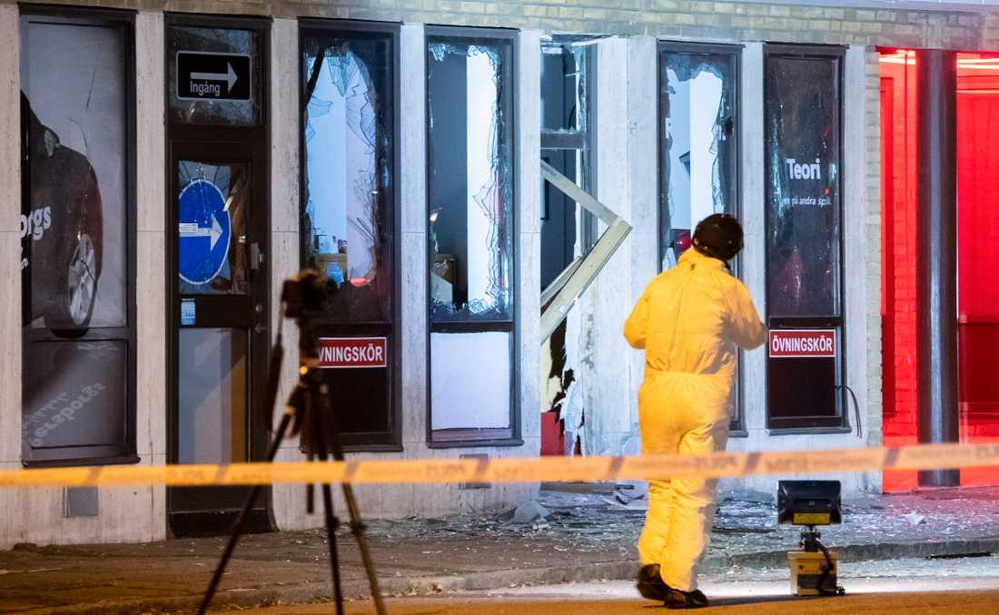 Ingen person kom till skada i explosionen i Malmöstadsdelen Persborg.