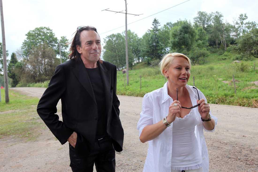 Rickard Wolff och Helena Bergström gör rollerna som Zack och Fanny för tredje gången.