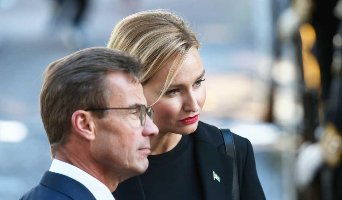 Ulf Kristersson och Ebba Busch