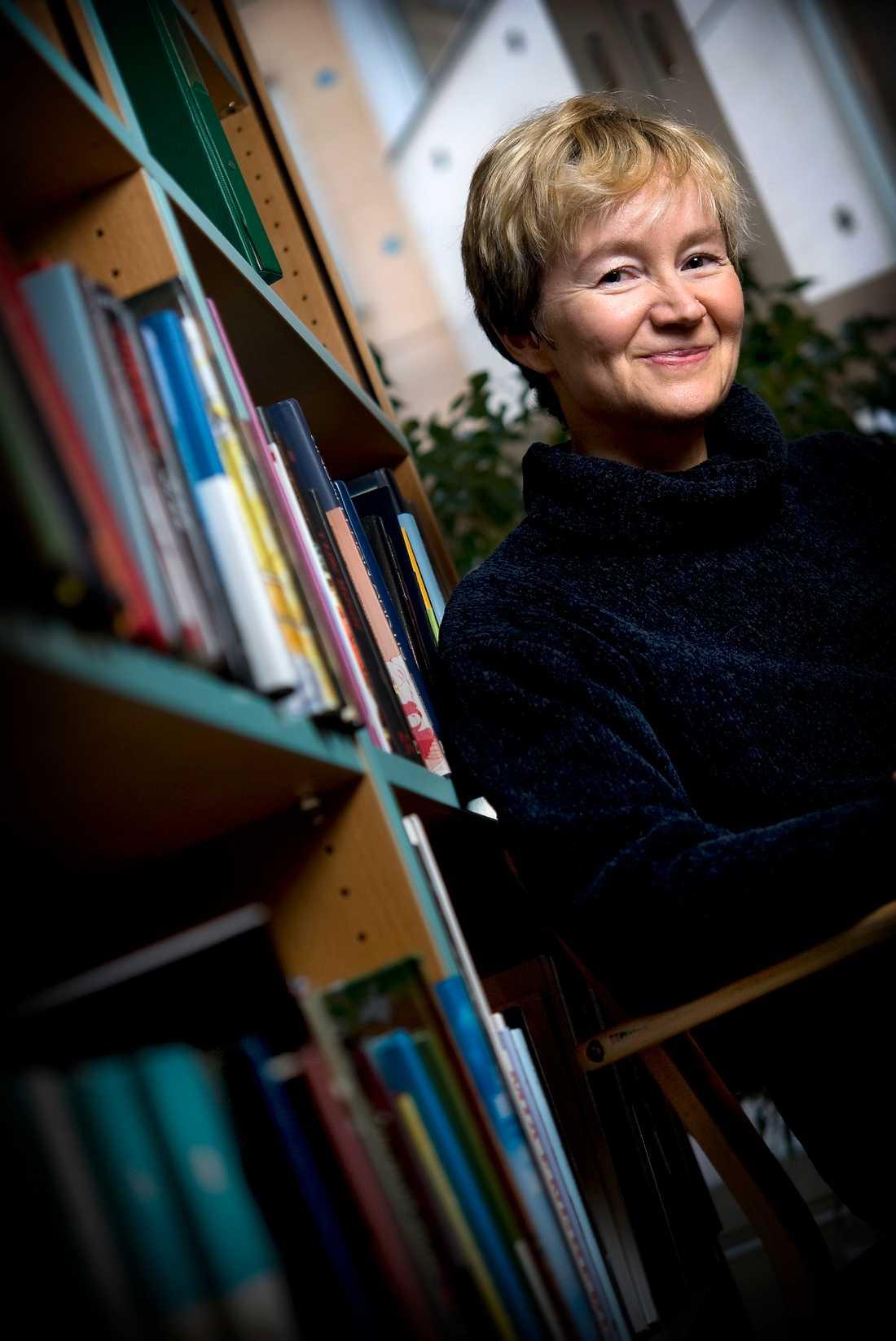 Författaren Ellen Mattson.