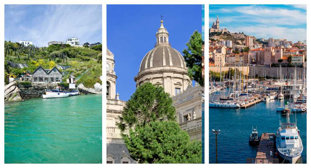 Newquay, Catania och Marseille är tre av SAS nya destinationer.