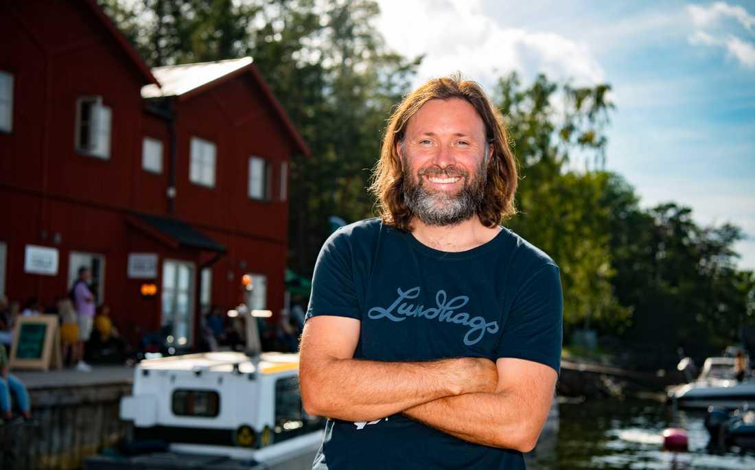 Niklas Ekstedt ville ha en matfestival utan kebabstånd.