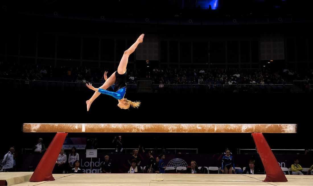 Jonna Adlerteg vid OS-kvalet – där hon klarade gränsen.