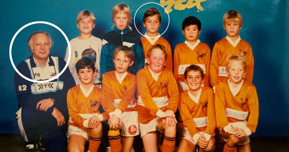 För 14 miljoner människor var det en gullig bild på Zlatan Ibrahimovics första pojklag. För Istvan Baka, 77, förändrade den livet.