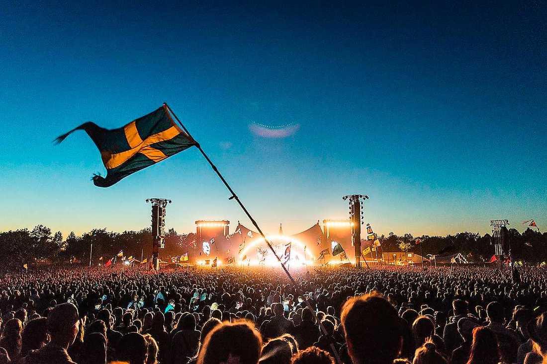 Roskildefestivalen.
