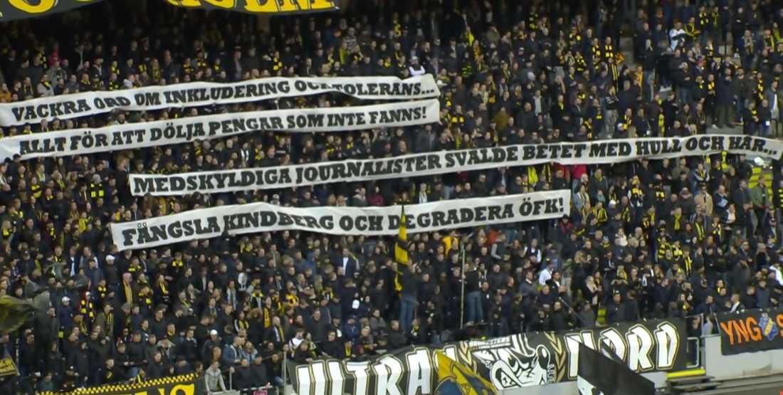 Fansens banderoll