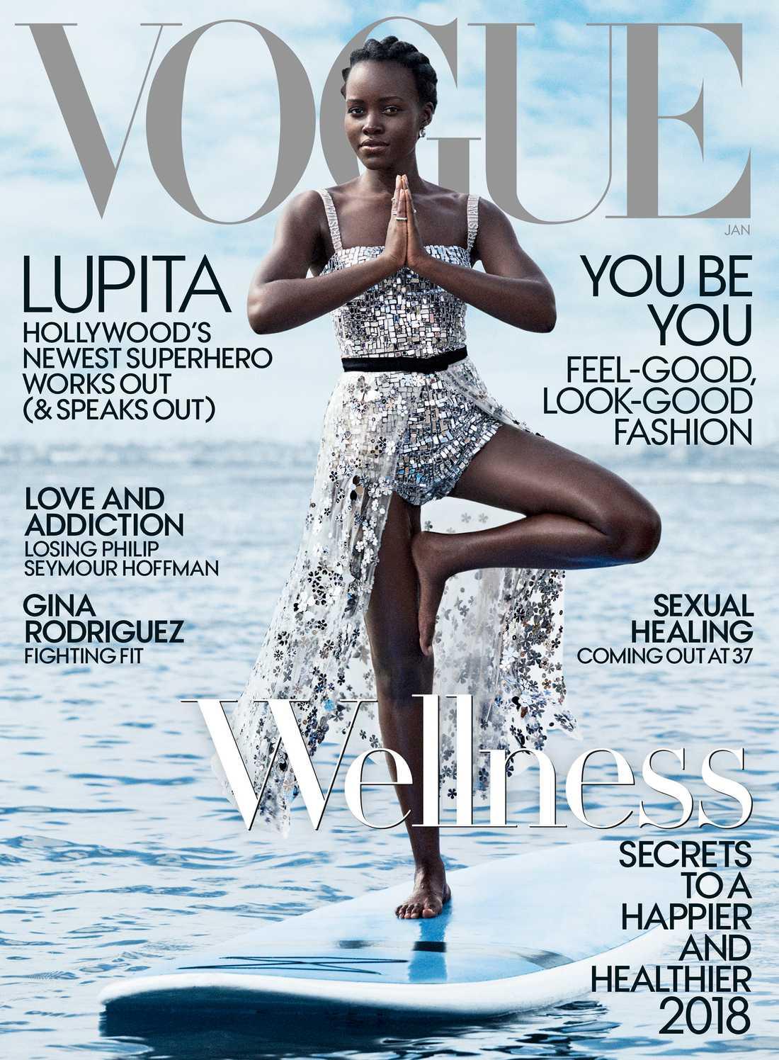 Lupita Nyong'o, Vogue.