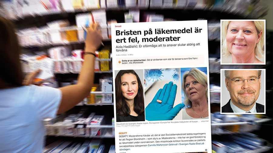 Kommuner och regioner har sina ansvarsområden, men det går inte att komma runt att det övergripande politiska ansvaret ligger hos regeringen, skriver Camilla Waltersson Grönvall och Tobias Nässén.