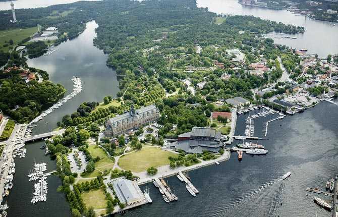 Drabbas om havsnivån stiger med sex meter Nordiska muséet, Stockholm.