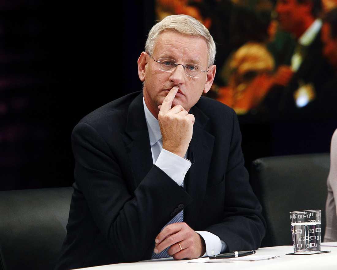 Carl Bildt, (m) Utrikesminister.
