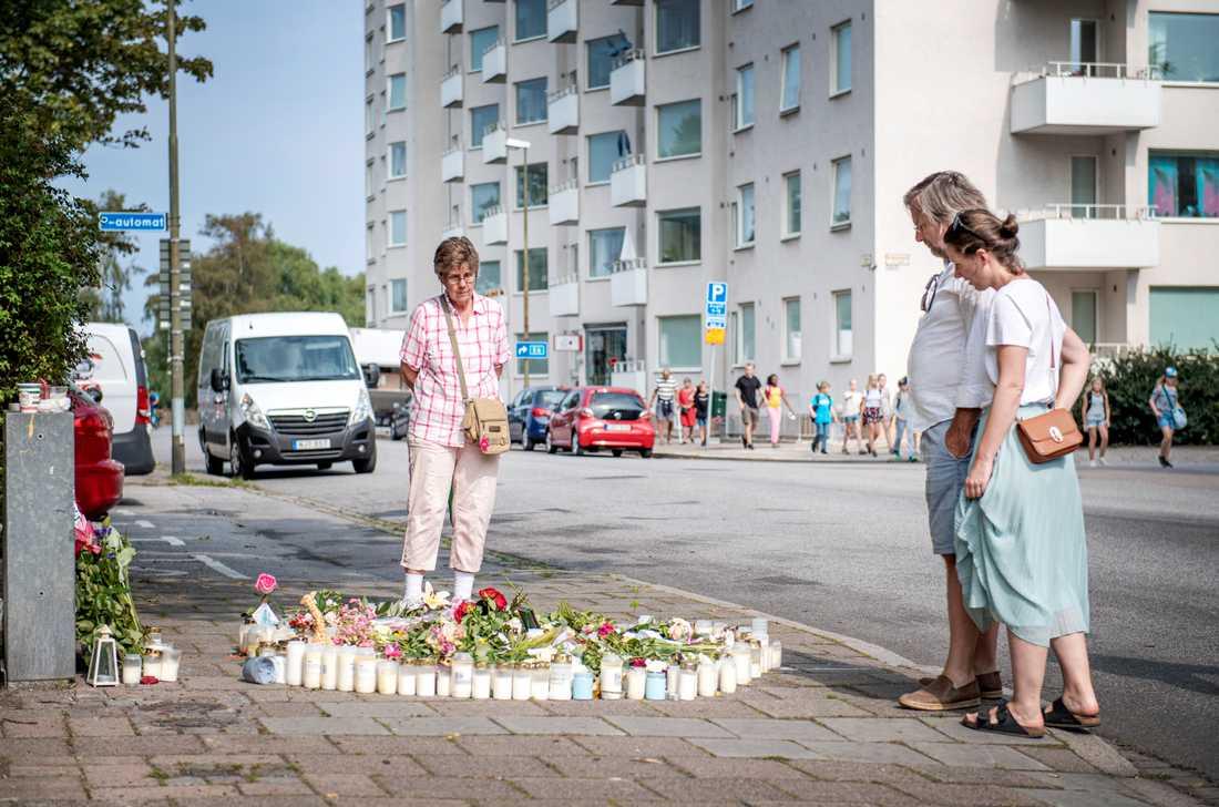 """Mordet ägde rum i stadsdelen Ribersborg, förr kallad """"käppastaden"""" med många äldre invånare. Nu har barnfamiljerna flyttat in."""