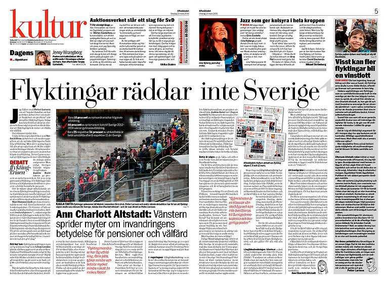 Aftonbladet kultur 22 mars