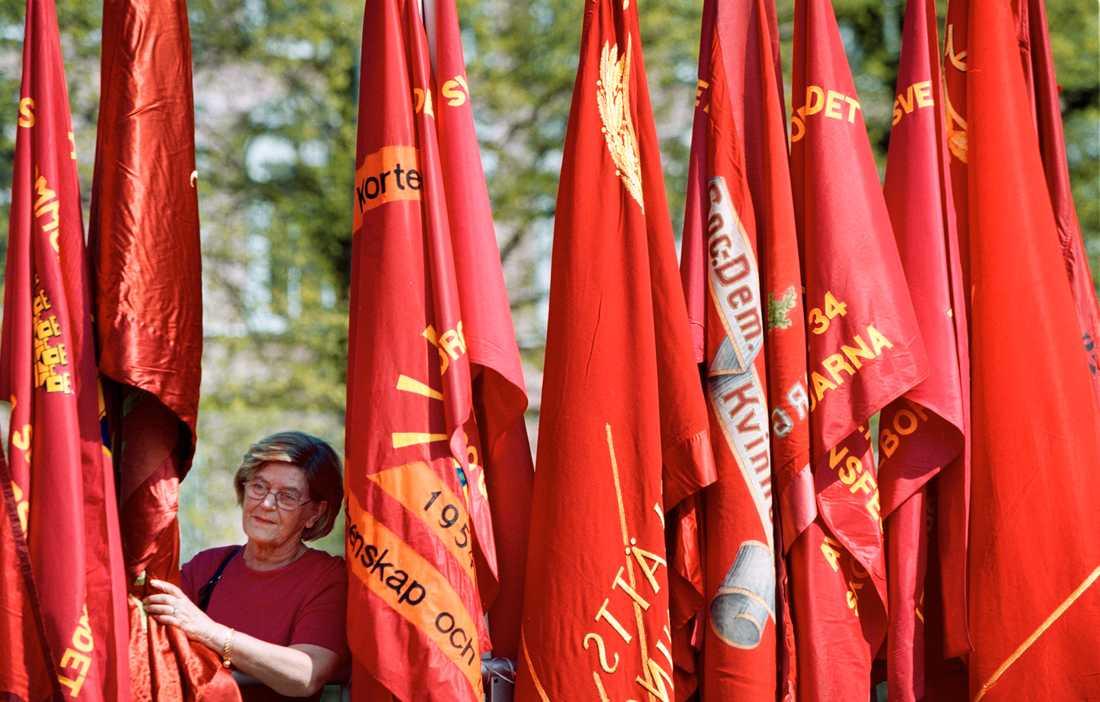 Första maj i Göteborg, Socialdemokratisk demonstration ett annat, coronafritt, år.