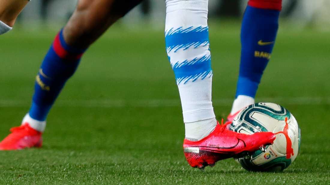 Fem spelare i Spaniens två högsta ligor har smittats av covid-19. Arkivbild.