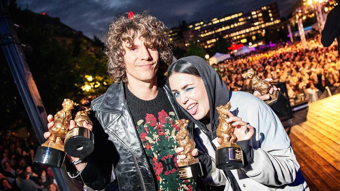 Håkan Hellström och Miriam Bryant var de stora vinnanrna i Rockbjörnen 2016 –och de har chans att vinna även i år.
