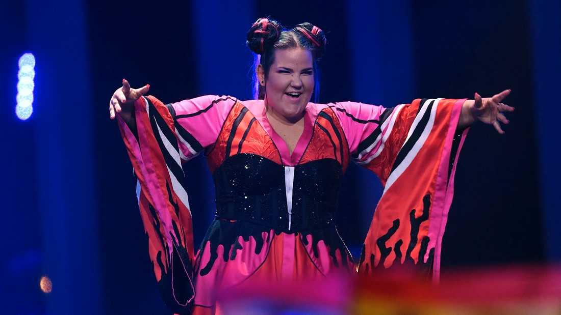 Netta från Israel vann Eurovision 2018.