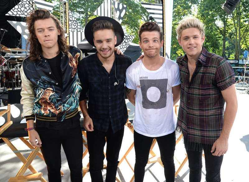 Harry Styles, Liam Payne, Louis Tomlinson och Niall Horan.