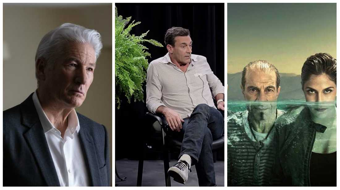 """MotherFatherSon"", ""Between two ferns: The movie"" och ""Sirens""."