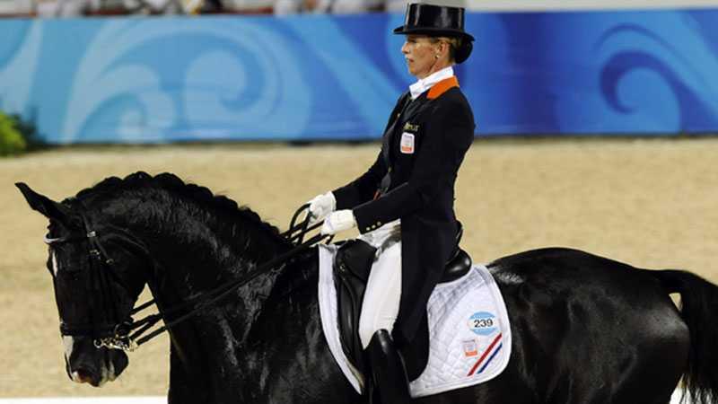 Anky van Grunsven kommer till Göteborg horse show.