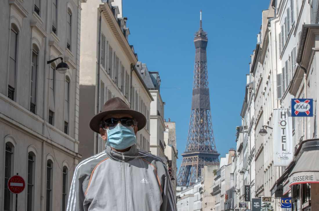 Coronapandemin har kastat Frankrike ner i en recession.