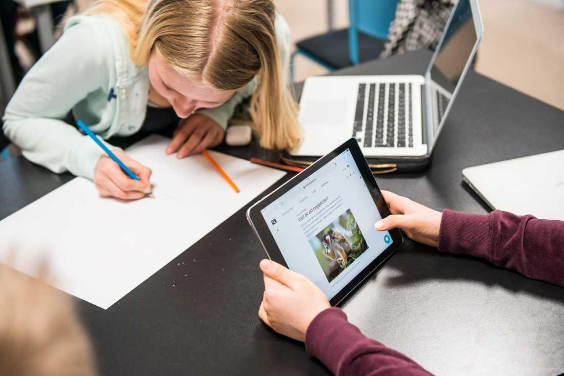 Pandemin kräver mycket extra av skolans personal. Därför får nya kursplaner vänta. Arkivbild.
