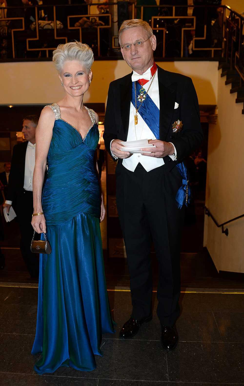 Anna Maria Corazza Bildt med utrikesministern Carl Bildt.