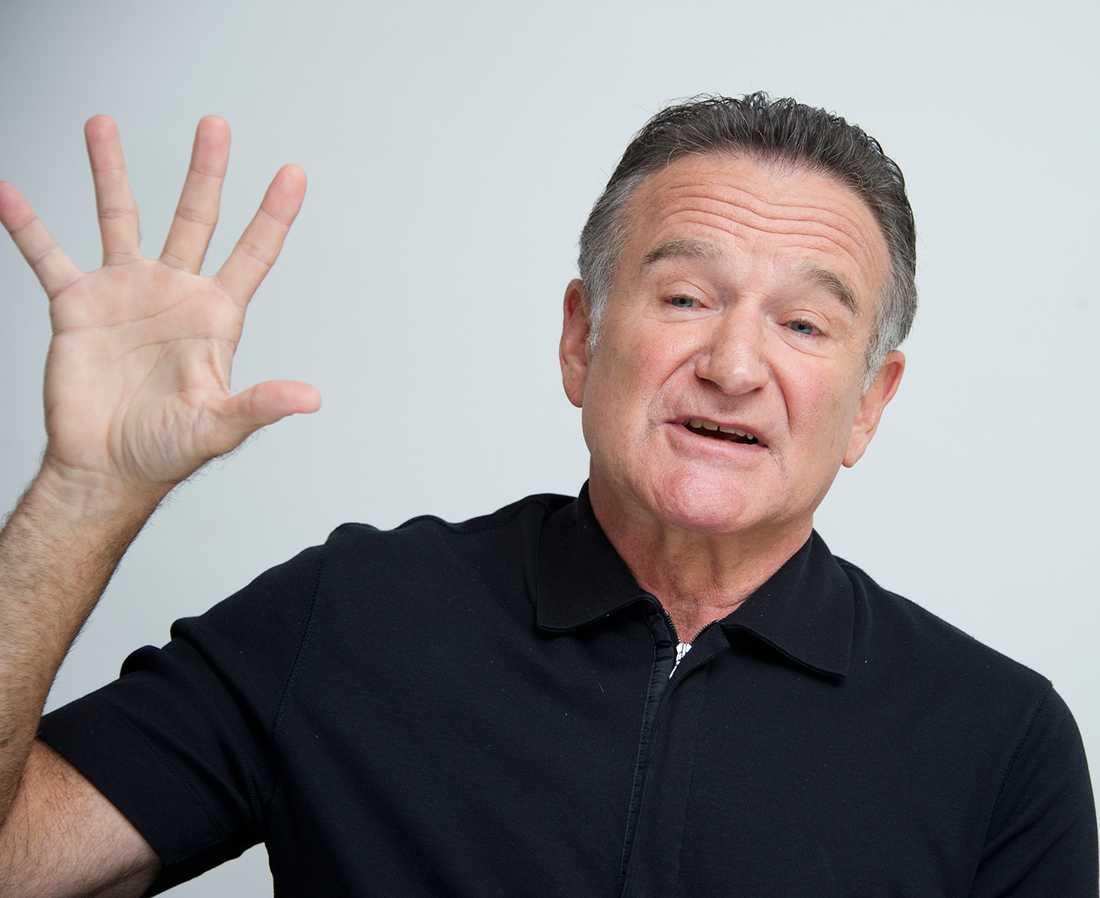 Nöjesbladets Magnus Sundholm träffade Robin Williams i Los Angeles hösten 2013.