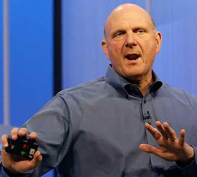 Steve Ballmer, Microsofts vd