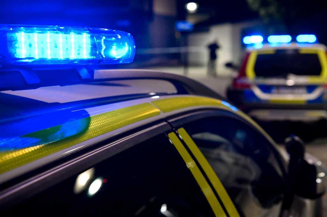 Vid 02-tiden under natten mot torsdagen ryckte polisen ut till en adress i stadsdelen Kvarngärdet i Uppsala. Arkivbild.