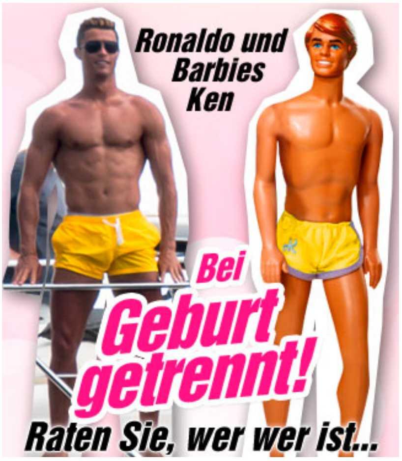 Bildmontage från tyska Bild