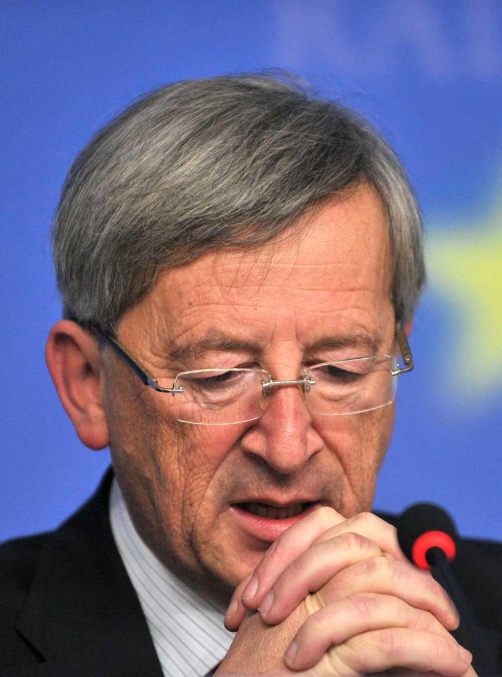 Jean-Claude Juncker, ordförande för eurogruppen.