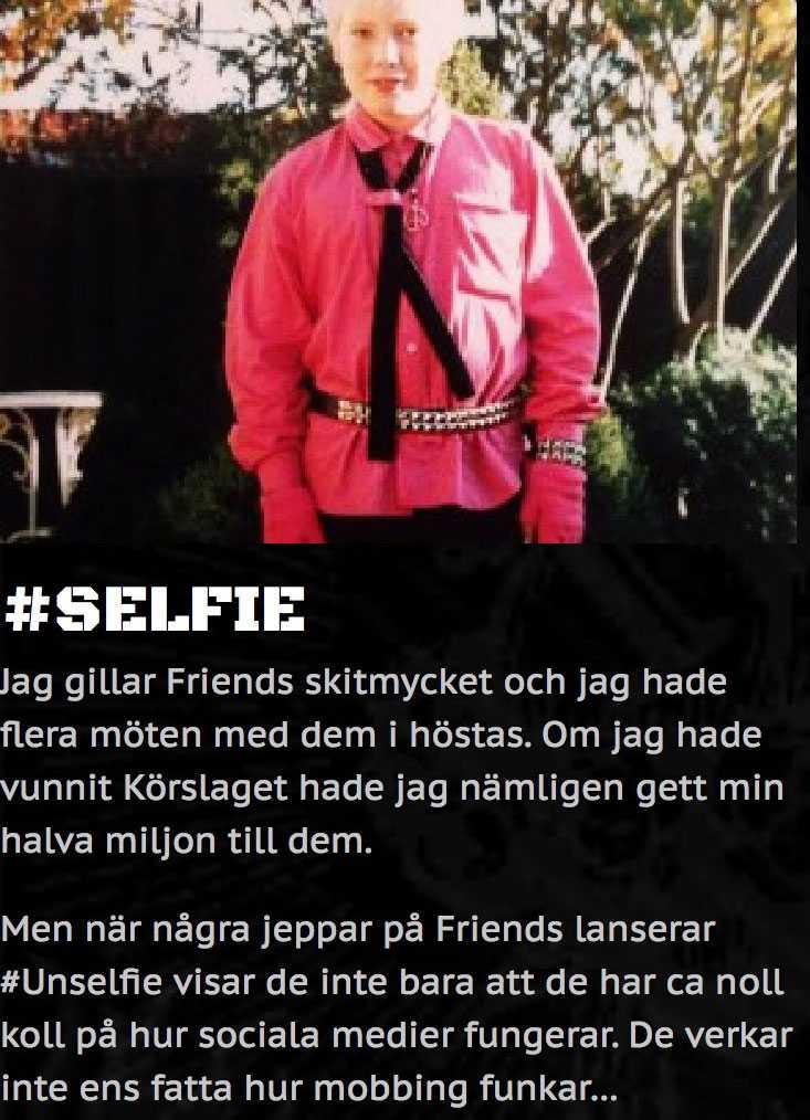 Operasångaren Rickard Söderberg är en av många som kritiserat Friends kampanj.