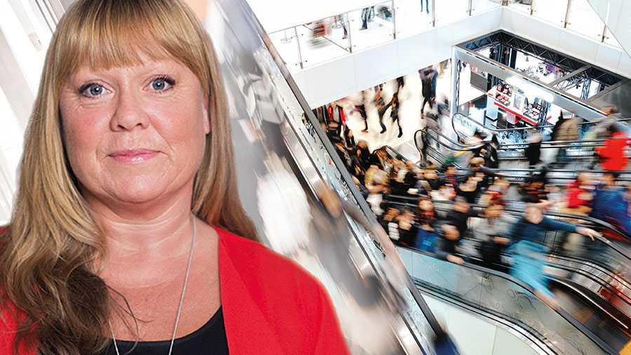 Det är ni butiksägare som har det yttersta ansvaret för både arbetsmiljön för anställda och kundernas säkerhet. Om ni inte redan tagit detta ansvar är det läge att göra det nu. Det är dags att skärpa sig, skriver LindaPalmetzhofer.
