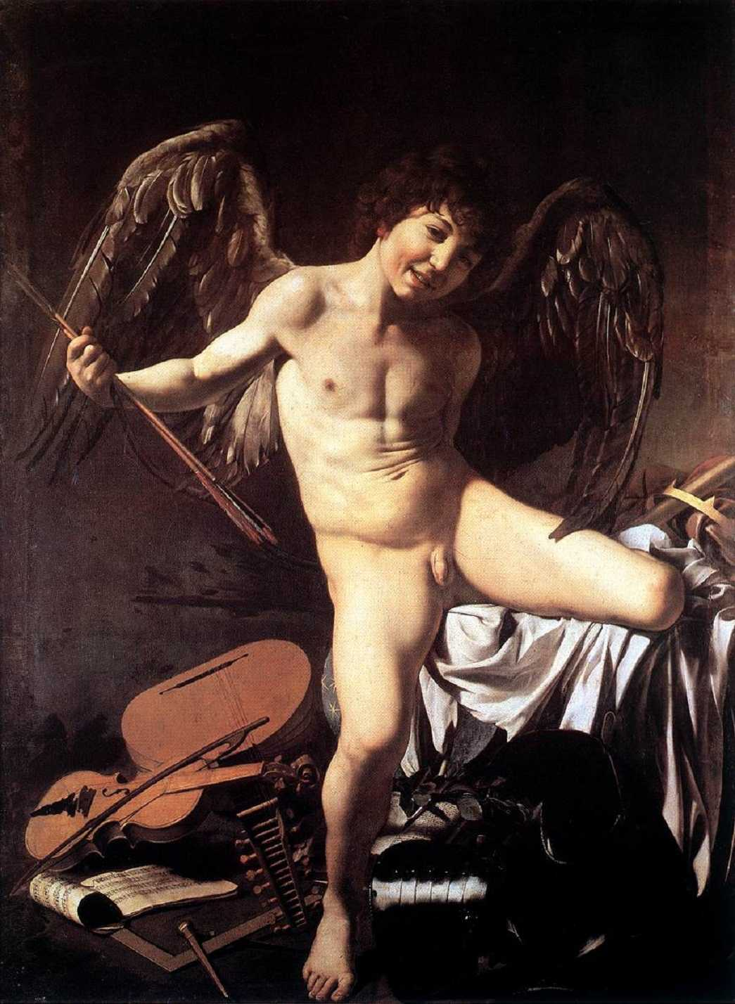 """Amor"" av Caravaggio."