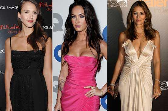 Jessica Alba, Megan Fox och Liz Hurley har stenkoll på sina kroppar. Så klart med hjälp av diverse proffs...