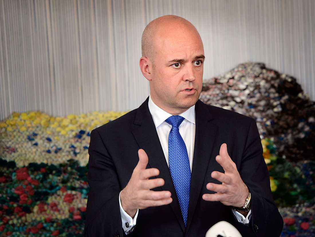Löftesrik Står Fredrik Reinfeldt fast vid sitt ord om att det block som får flest röster ska regera landet? Foto: Björn lindahl