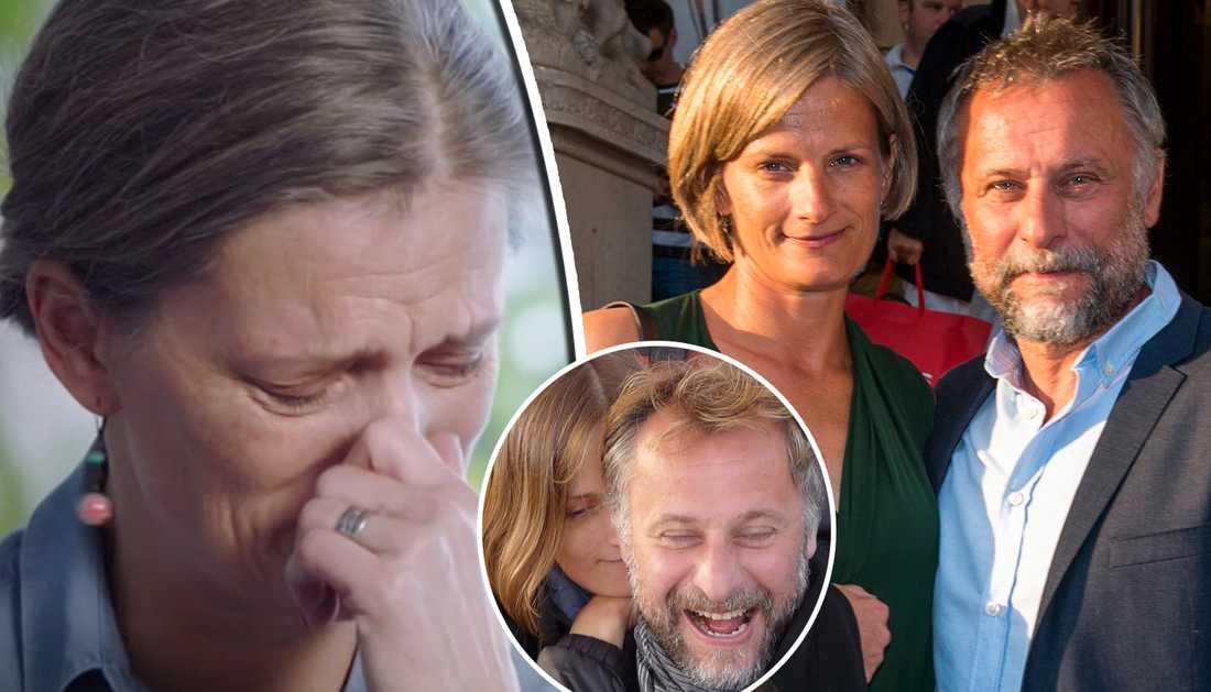 Catharina Nyqvist Ehrnrooth berättar om sorgen efter Michael Nyqvist.