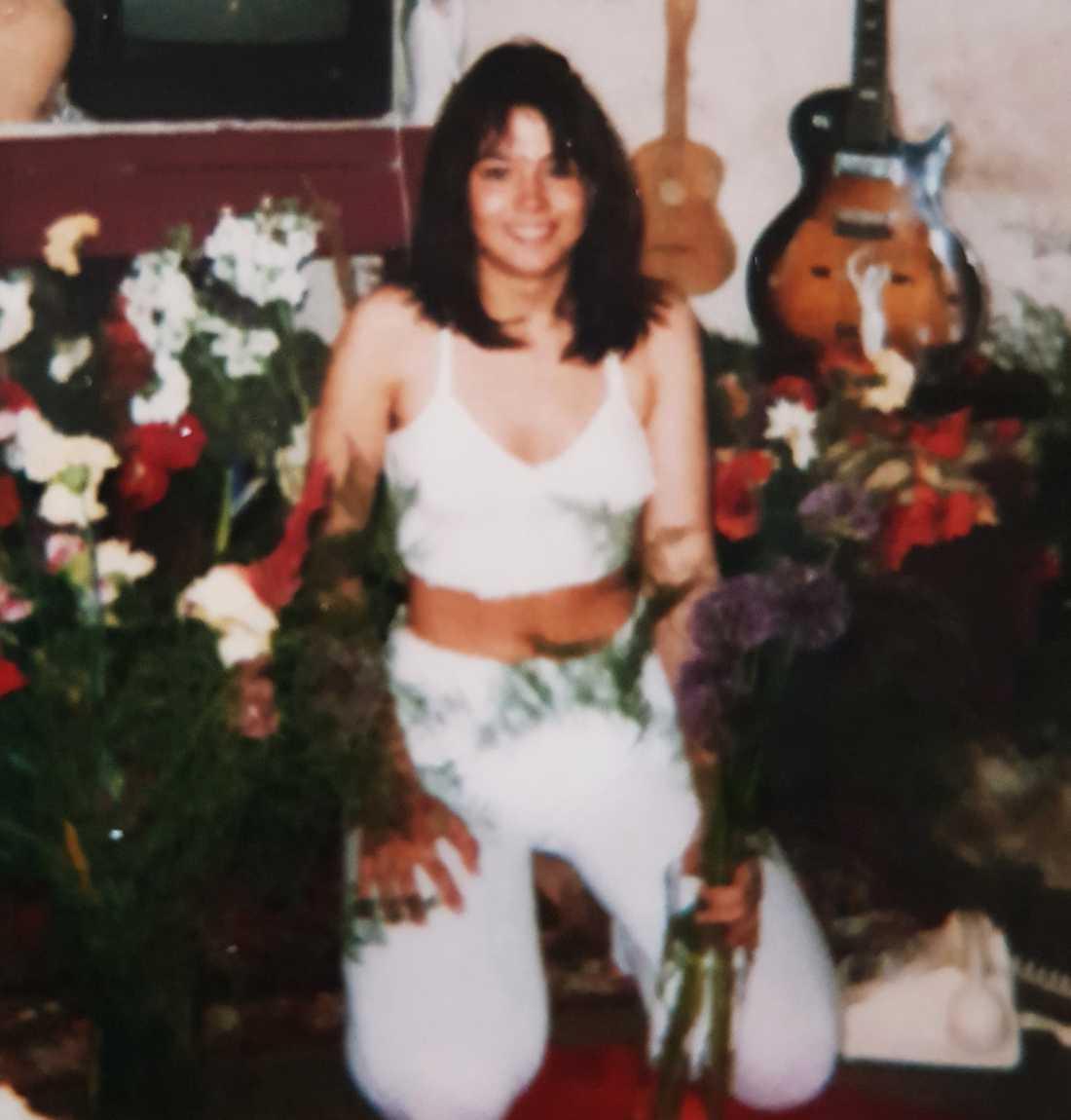Gabriella började använda droger när hon var runt 16 år.