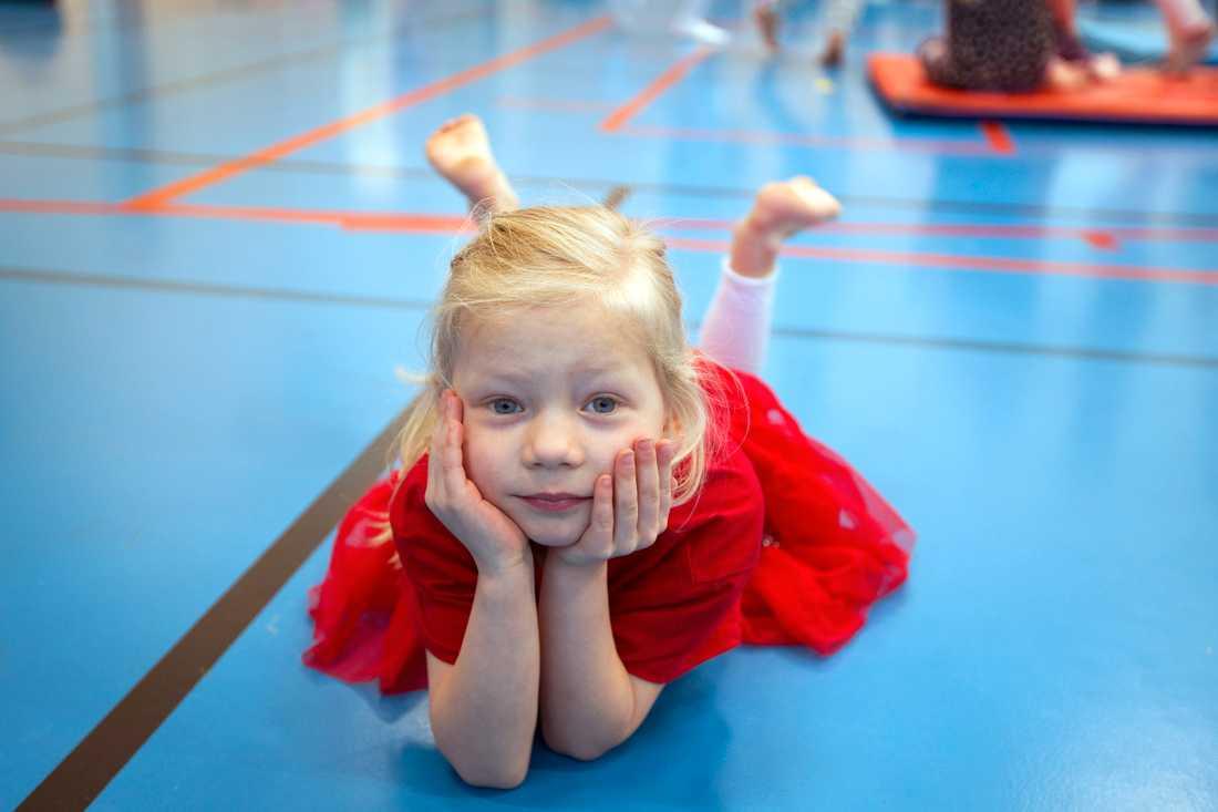 Freja föddes i oktober 2014 med hjälp av kejsarsnitt.