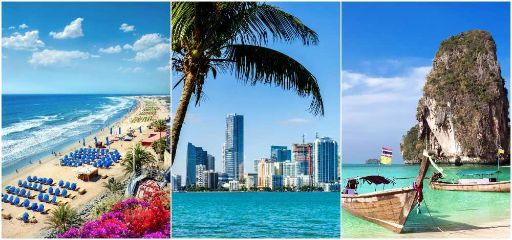 Kanarieöarna, Florida och Thailand är våra mest populära resmål i jul & nyår.
