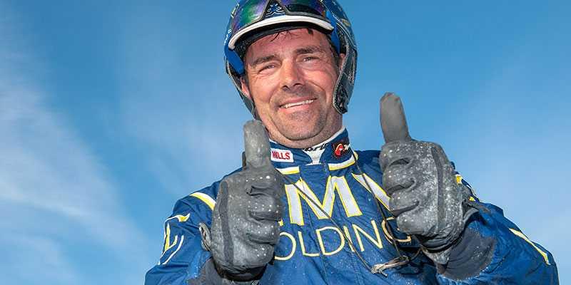 Conrad Lugauer tillbaka efter olyckan - segersugen på V86