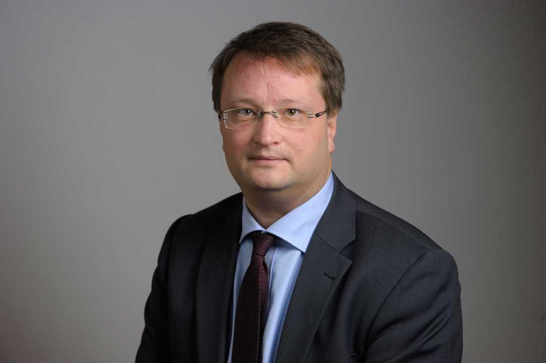 Riksdagsledamoten Lars Beckman (M).