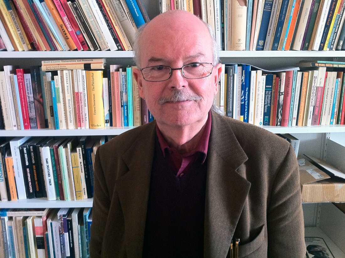 Bo Lewin, forskare i sociologi.